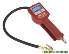 Sealey Tools SA391 Digital Air Line Tyre Inflator Pressure Gauge Clip On Type