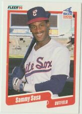 1990 Fleer Baseball Rookie Card - Sammy Sosa - #548