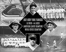 1927 New York Yankees Composite Photo 11X14 - Ruth Gehrig Lazzeri Combs Bronx