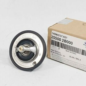 Genuine 255002B000 Engine Coolant Thermostat For Kia Soul K5