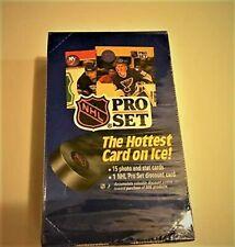 1990-91 Pro Set Hockey Card Wax Box Sealed