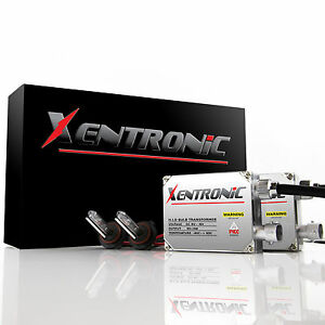 Xentronic HID KIT Xenon 9003 H4 Hi-Lo 6000k White High & Low Conversion Lights