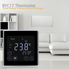 Digital LCD Fußbodenheizung Raumtemperaturregler Thermostat Programmierbar Neu