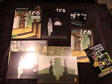@ ICO EDITION CARTON + 4 IMAGES ED LIMITEE @ JEU PLAYSTATION 2 Ps2 - COMPLET VF