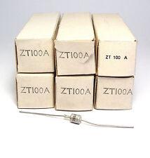 6x Zener Diode ZT100A / ZT100 A, 100 Volt, 1 Watt, 60er Jahre