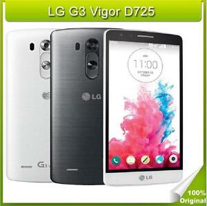"LG G3 Mini Unlocked LG G3 Vigor D725 Quad-Core 1.2GHz 8GB LTE 8MP 5"" Android OS"