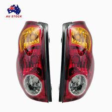 Pair LH+RH Tail Lights Lamps For Mitsubishi Triton Ute ML MN Rear Lamp 2006-2015