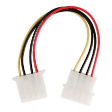 4 Pin Molex PC Power Male to Female Extension Cable Lead