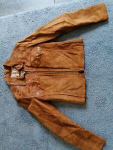 Oakwood Short Cropped Suede Jacket