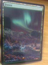 1x Forest #2.1 Extended Textless Full Art Custom Altered Basic Land MTG
