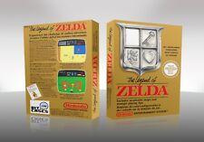 The Legend of Zelda | Game Box / Case | Spielverpackung | NES | Repro