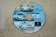 Mercedes Benz Comand Digital Road Map # 2 BQ6460236 Navteq Release 01/08