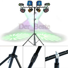 3M Adjustable T bar Lighting Heavy Duty Stand DJ Disco 8 Light T-Bar Stand UK MI