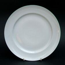 Para el hábitat Blanco Con Verde Trim desayuno o de tamaño pequeño Platos De 24cm