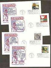 #3188 a-o Celebrate the Century 1960s Set of 15 different Artmaster FDCs