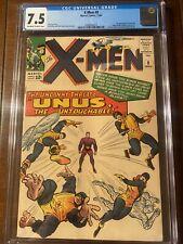X-MEN #8 11/64 CGC 7.5 OWW FIRST UNUS! NICE EARLY X-MEN COLLECTIBLE!