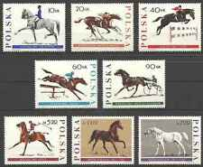 Timbres Chevaux Pologne 1590/7 ** lot 19092