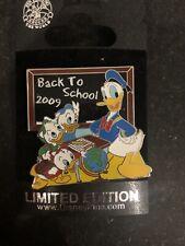 Pin 71884 Back To School 2009- Donald Duck & Nephews