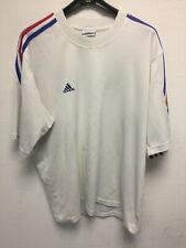 maillot shirt Équipe De France Athlétisme Vintage Rare JEUX OLYMPIQUES Adidas