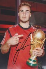 MARIO GÖTZE WM 14 2018 BVB Foto 13x18 signiert IN PERSON Autogramm signed