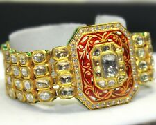 22K Gold and diamonds Engagement Bracelet estate vintage traditional 435 TCW
