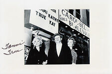 Kennedy Assassination JFK Related: Tammi True Carousel Club Jack Ruby SIGNED