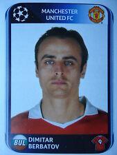 Panini 156 Dimitar Berbatov Manchester United UEFA CL 2010/11