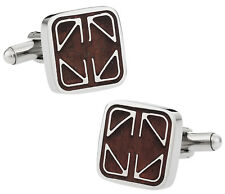 Elegant Wood Cufflinks Direct from Cuff-Daddy