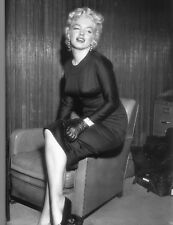MARILYN MONROE 8x10 PICTURE TIGHT BLACK DRESS PHOTO
