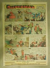 Superman Sunday Page #844 by Wayne Boring from 12/31/1955 Tabloid Page Size Rare