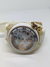 Swiss Legends Neptune Ceramic Women's Gold Tone Watch