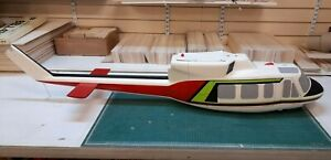 Radio Control Helicopter, Vintage Graupner bell 212 Painted Fuselage Very rare.
