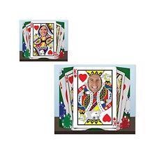 Royal Flush Foto Prop - 94 X 64 Cm-Casino Tarjeta Traje Fiesta Recortes & standins