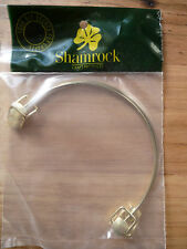 Shamrock Gold Bag Handles 2pc - 13.5x9cm