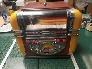 JUKEBOX 541.430 Vintage-Style Polyconcept AM/FM Radio & CD Player For Parts