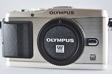 [Exc⁺⁺] OLYMPUS PEN E-P3 12.3 MP Silver (Body) Mirrorless Digital SLR Camera