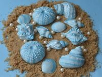 sand 15 edible sugar shells starfish and pearls wedding cakes golden sugar