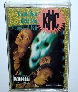 "KMC 3 MEN POWER 10 RAP TAPE CASSETTE G FUNK BOOMBOX 1991 PRIORITY Random 12"" lp"