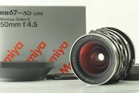 【MINT in BOX】 Mamiya Sekor C 50mm f/4.5 Lens For RB67 Pro S SD From Japan 908