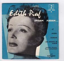 EP 45 TOURS EDITH PIAF PADAM PADAM ESRF 1023 COLUMBIA