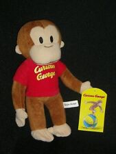 "CURIOUS GEORGE 10"" WITH TAGS"