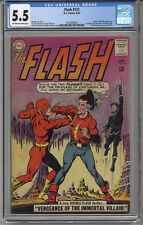 The FLASH #137 CGC 5.5 F- OW/W Hi-Res Scans Free Shipping 1st SA Vandal SAVAGE