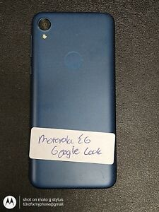 Motorola Moto E6 Unknown IMEI for parts only