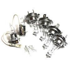 Fiat Punto 188AX 100 W Claro Xenon HID Alto/Bajo/Niebla/Lado Headlight Bulbs Set