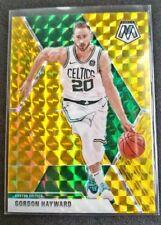 New listing ☘ Gordon Hayward Gold Prizm /10 2019-20 Panini Mosaic Boston Celtics