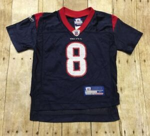 Houston Texans Jersey Reebok Toddler Infant 2T David Carr NFL Football Blue VTG