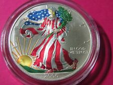 2000-P Painted American Silver Eagle Uncirculated Coin #31 - Gem+++