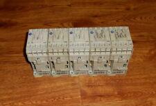 Lot of 5 Allen Bradley  700-CF400D*  Control Relays 25 Amp  24 VDC Coil Series A