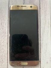 Samsung Galaxy S7 edge SM-G935F 32GB Gold Platinum Unlocked NOT WORKING