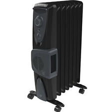 Dimplex 1.5kW Eco Column Heater with Turbo Fan & Thermostat in Black OFRC15TFNB